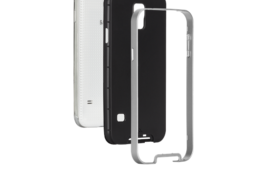 Case-Mate Slim Tough Case for Samsung Galaxy S5 layers
